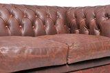 Chesterfield Zetel Vintage Leer | 2-zit | Bruin | 12 jaar garantie_
