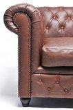Chesterfield Zetel Vintage Leer | 3-zit | Bruin | 12 jaar garantie_