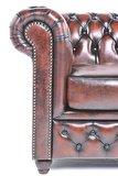 Chesterfield Zetel Original Leer   6-zits   Antiek Bruin   12 jaar garantie_