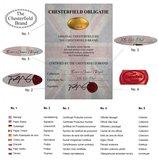 Chesterfield Zetel Original Stof |2-zits | Pitch Bruin | 12 jaar garantie_