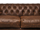 Chesterfield Zetel Vintage C0869   1 + 2-zits   12 jaar garantie_